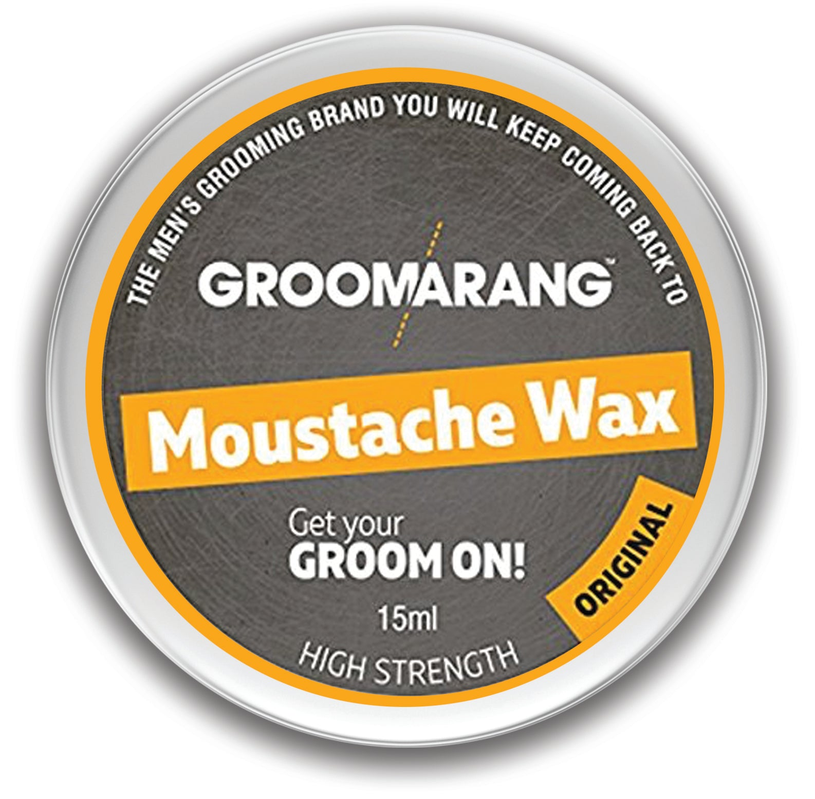 Groomarang Original Moustache Wax, Hair Styling Products - Image 2