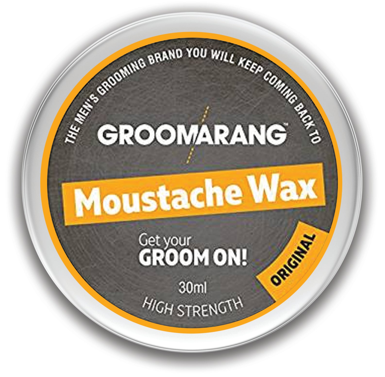 Groomarang Original Moustache Wax, Hair Styling Products by Groomarang