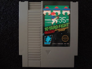 10 Yard Fight Nintendo Entertainment System