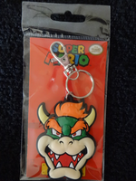 Bowser Soft Touch Keychain