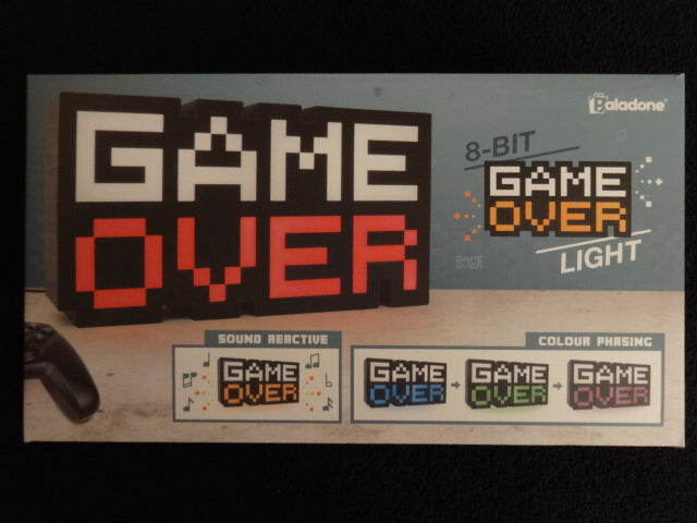 8 Bit Game Over Light