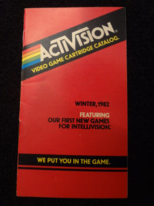 Activision Catalog Winter 1982