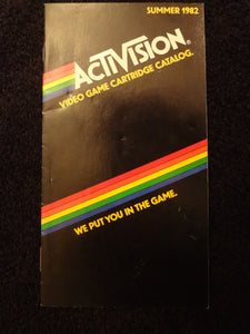 Actvision Catalog Summer 1982