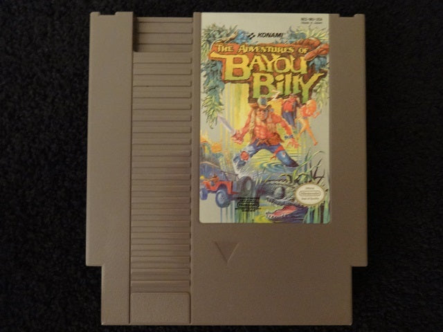 Adventures of Bayou Billy Nintendo Entertainment System