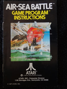Air Sea Battle Atari 2600