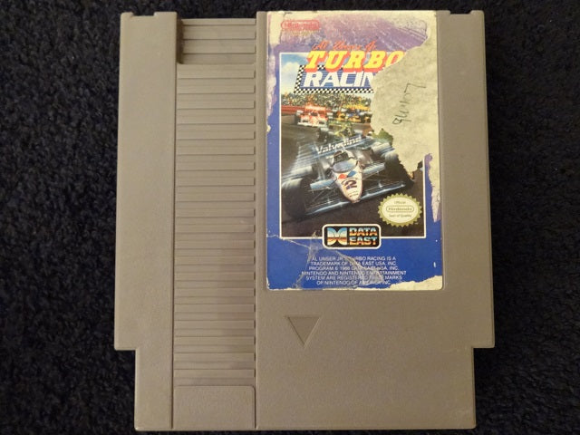 Al Unser Jr. Turbo Racing Nintendo Entertainment System