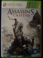 Assissin's Creed III Microsoft Xbox 360