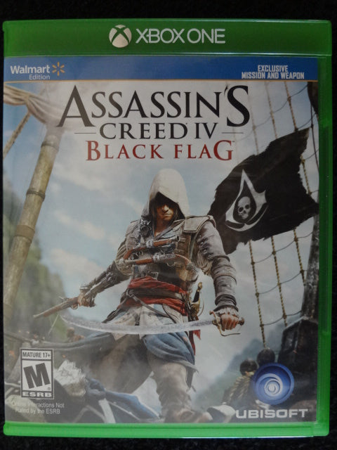 Assissins Creed 4 Black Flag Xbox One