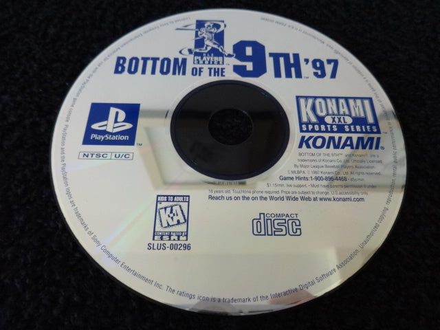 Bottom Of The 9th '97 Sony PlayStation