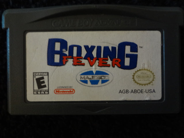 Boxing Fever Nintendo GameBoy Advance