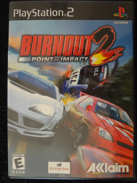 Burnout 2 Point of Impact Sony PlayStation 2