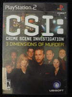 CSI Crime Scene Investigation 3 Dimensions of Murder