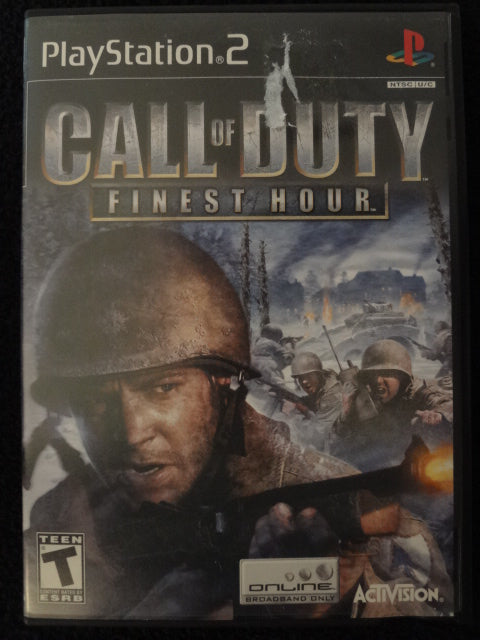 Call of Duty Finest Hour Sony PlayStation 2