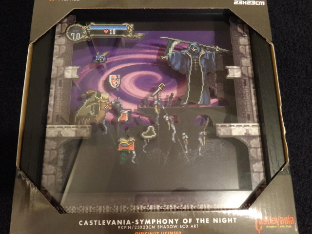 Castlevania Symphony of the Night 3D Pixel Frame