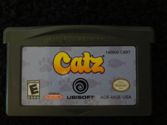 Catz Nintendo GameBoy Advance