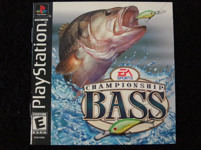 Championship Bass Sony PlayStation