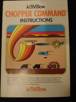 Chopper Command Instruction Booklet Atari 2600