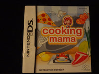 Cooking Mama Instruction Booklet