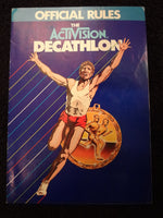 Decathlon Instruction Booklet Atari 2600