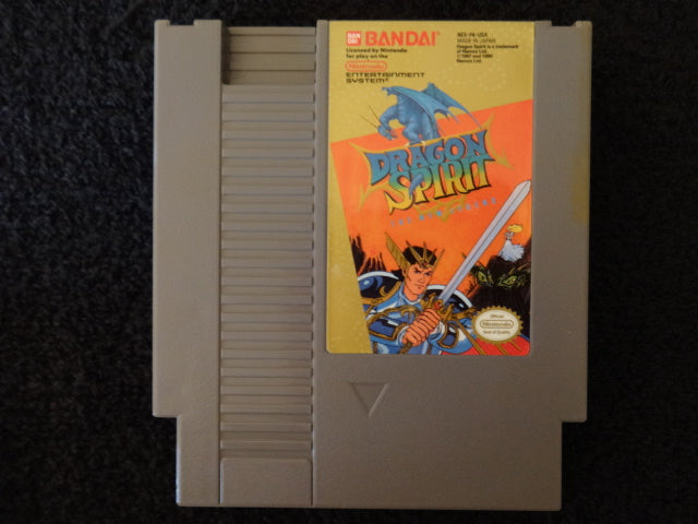 Dragon Spirit Nintendo Entertainment System NES