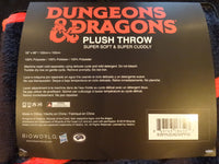 Dungeons And Dragons 20 Sided Dice Plush Throw