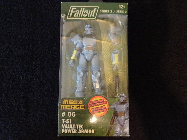 Fallout T-51 Vault-Tec Power Armor Builadable Action Figure
