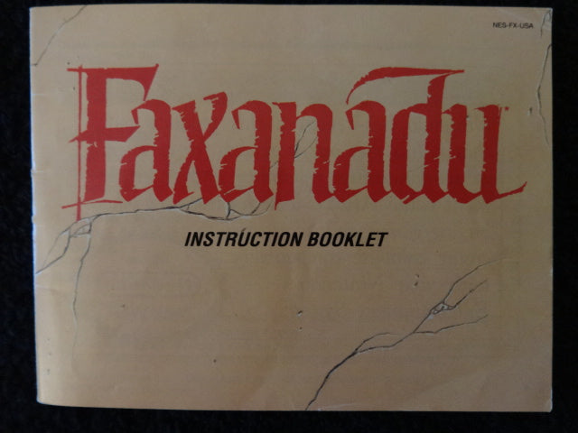 Faxanadu Nintendo Entertainment System