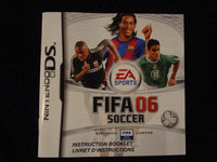 Fifa 06 Soccer Instruction Booklet