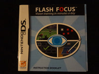 Flash Focus Vision Training In Minutes A Day Instruction Booklet