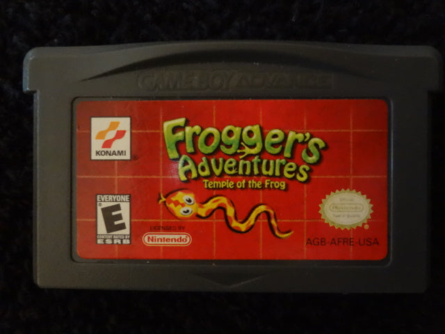 Frogger's Adventures Temple Of The Frog Nintendo GameBoy Advance