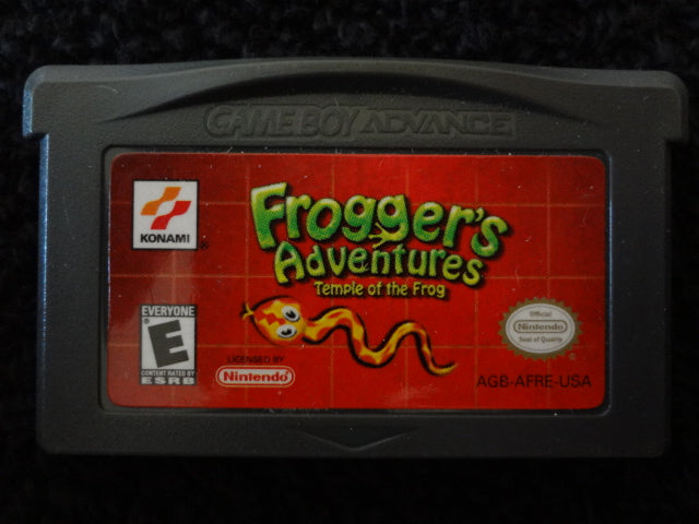 Froggers Adventures Temple Of The Frog Nintendo GameBoy Advance