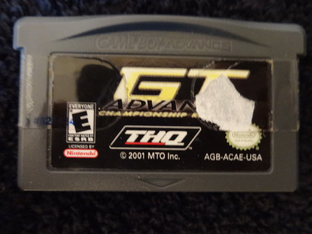 GT Advance Championship Racing Nintendo GameBoy Advance