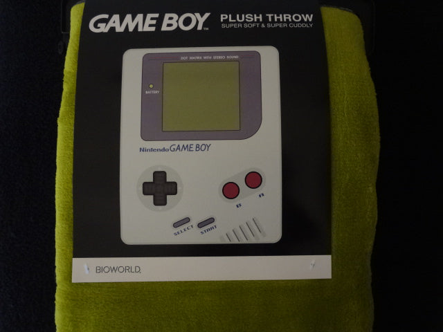 GameBoy Fleece Throw Blanket