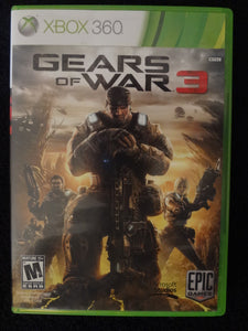 Gears Of War 3 Microsoft Xbox 360