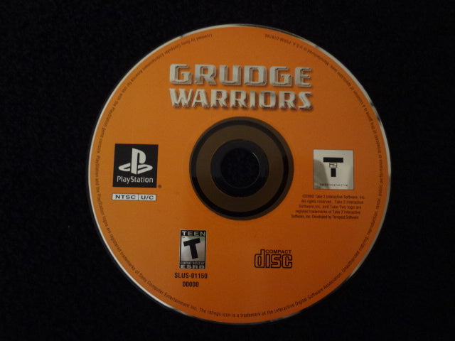 Grudge Warriors Sony PlayStation