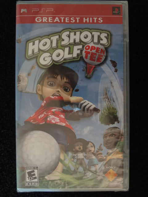 Hot Shots Golf Open Tee Sony PSP