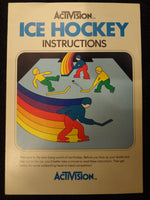 Ice Hockey Instruction Booklet Atari 2600