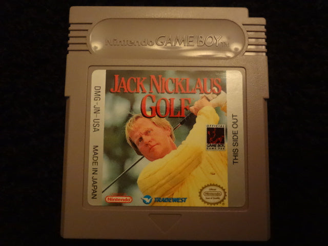 Jack Nicklaus Golf Nintendo GameBoy