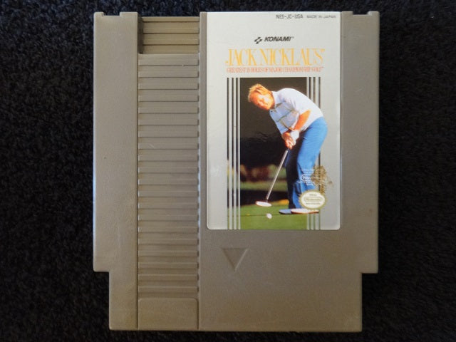 Jack Nicklau's Greatest 18 Holes of Major Championship Golf Nintendo Entertainment System