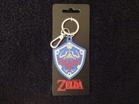 Legend Of Zelda Link Shield Soft Touch KeyChain
