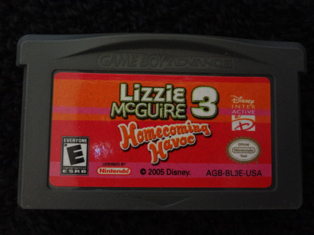 Lizzie McGuire 3 Homecoming Havoc Nintendo Entertainment System