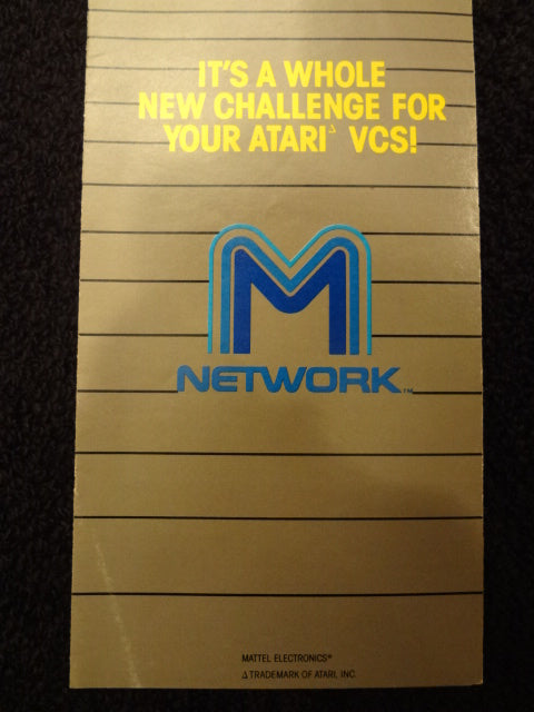 M Network Catalog Atari VCS