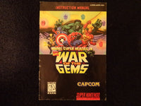 Marvel Super Heroes In War Of The Gems Super Nintendo