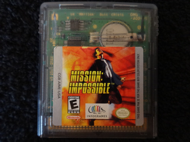Mission Impossible Nintendo GameBoy Color