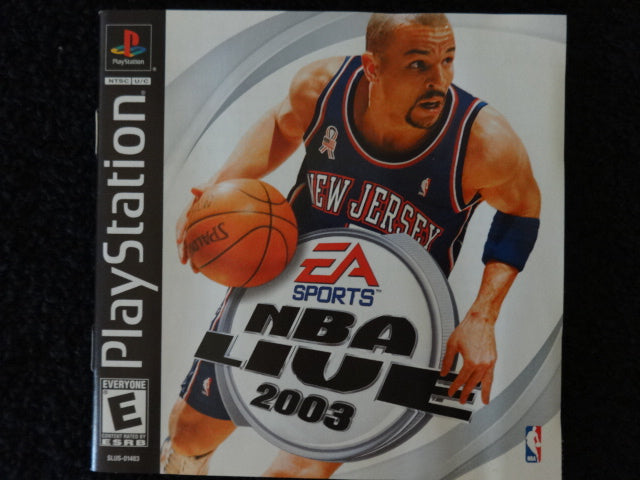 NBA Live 2003 Sony PlayStation