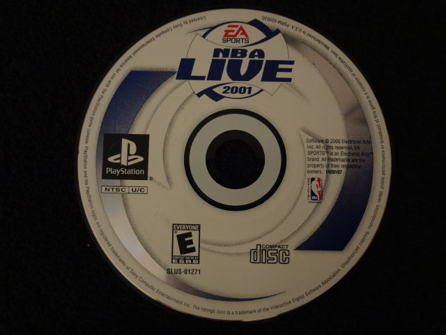NBA Live 2001 PlayStation 1