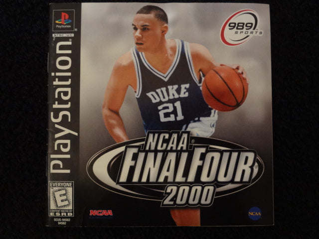 NCAA Final Four 2000 Sony PlayStation