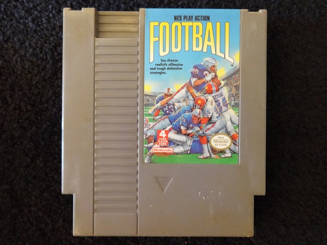 NES Play Action Football Nintendo Entertainment System