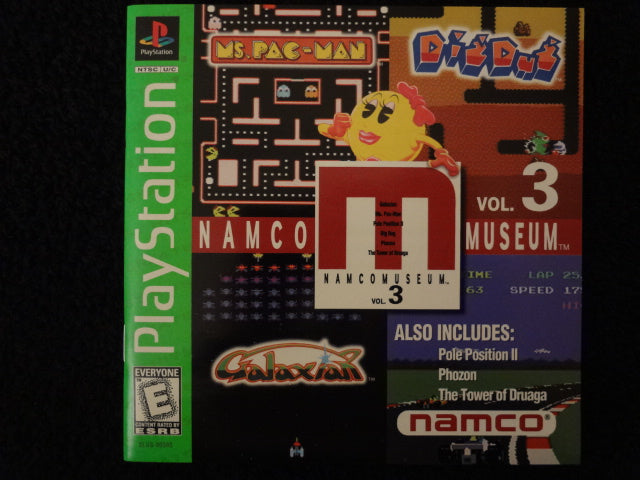 Namco Museum Volume 3 Sony PlayStation