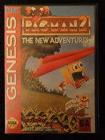 Pac-Man 2 The New Adventure Sega Genesis